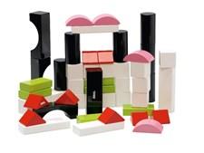 Värilliset rakennuspalikat 50 kpl, Brio