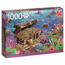 Underwater Treasure, Pussel 1000 bitar, Jumbo