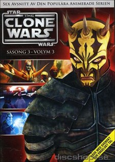 Star Wars - The Clone Wars - Säsong 3 vol 3