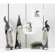 glaskulor med h l 8 cm transparent 6 st julpyssel adlibris. Black Bedroom Furniture Sets. Home Design Ideas