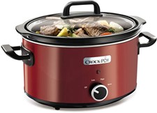 Crock-Pot Slowcooker Manuell 3.5 L Röd