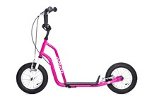 Yedoo Three, Sparkesykkel med lufthjul, Magenta