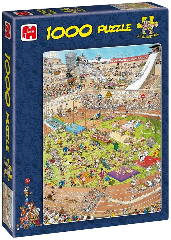 Jan van Haasteren, The Olympics, Palapeli 1000 palaa