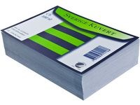 Kirjekuori myyntipakk. Sv C6 viivat valkoinen (100 kpl)