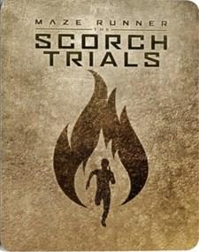 Maze runner - The Scorch trials - Ltd Steelbook (Blu-ray)