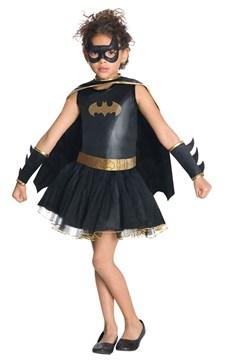 Maskeraddräkt Batgirl, Strl 104-128, Rubies