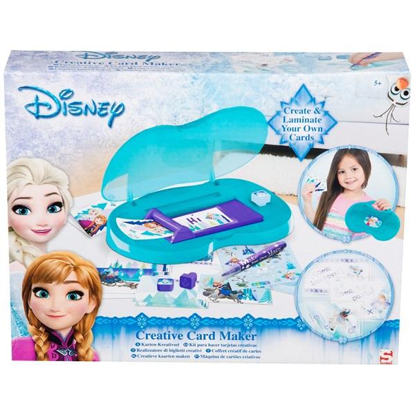 Gör dina egna kort  Disney Frozen - pyssel