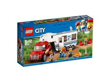 Pickup och husvagn, LEGO City Great Vehicles (60182)