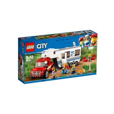 Pickup och husvagn, LEGO City Great Vehicles (60182)