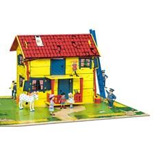 Pippi Villa Villekulla med lekplatta, Micki