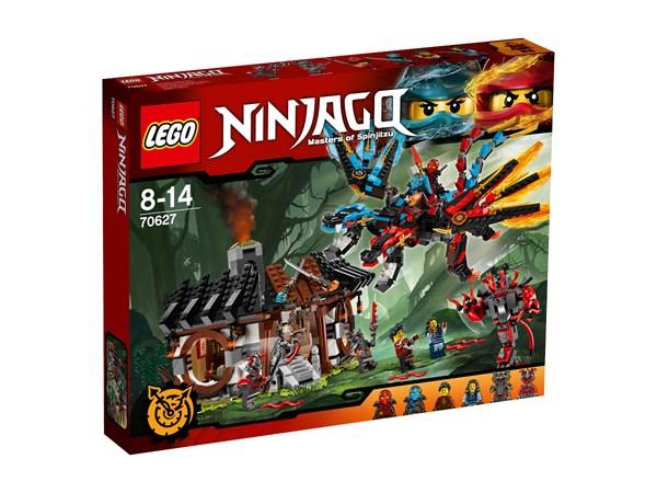 Lohikäärmepaja, LEGO Ninjago (70627)