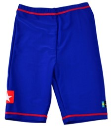 UV-shorts Sealife, blå, Swimpy (110-116 cl)