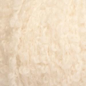 Drops, Alpaca Bouclé Uni Colour, Garn, Alpakkamiks, 50 g, Natur 0100