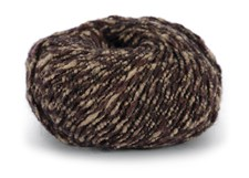 Knit At Home Soft Superkid Garn Mohair Ullmix 50 g Brun/Beige Melert 1007
