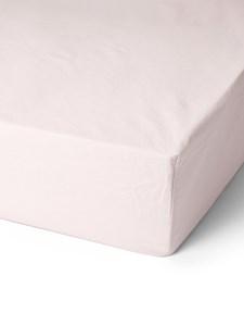 Bondeco Collection Dra-På-Lakan i ekologisk bomull 180x200x45 Light pink