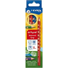 Groove Färgpennor 5-pack Lyra