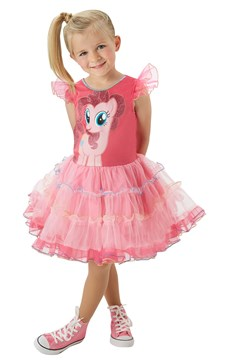 Maskeraddräkt Pinkie Pie, My Little Pony, Strl 116, Rubies