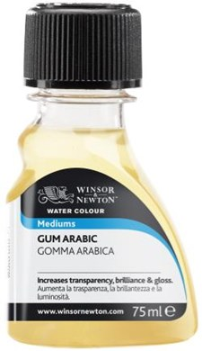 Akvarell Medium Gum Arabic Winsor & Newton 75 ml