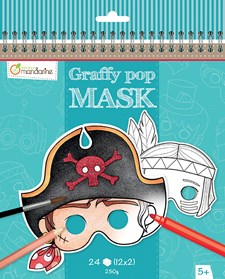 Graffy Pop Mask, poikia