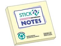 Notes Recycled 76x76 mm Gul