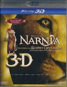 Narnia 3 - Caspian och Skeppet Gryningen (Blu-ray 3D)
