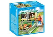 Kaninbur med utendørs innhegning, Playmobil