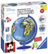 3D Pusselboll Disney World map, 180 Bitar, Ravensburger