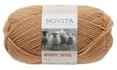 Novita, Nordic Wool, Ullgarn, 50 g, Karamell 629