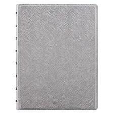Filofax Notebook A5 Saffiano Silver