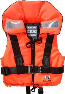 Räddningsväst med säkerhetssele 15-30kg, Orange, Baltic