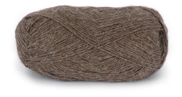 Du store Alpakka Tynn 50 g Gråbrunt Melert 107