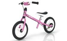 Speedy 12,5'' Rosa springcykel, Kettler