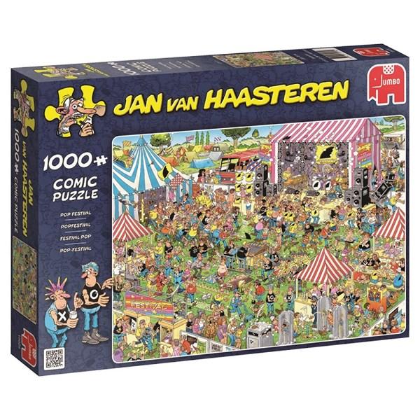 Jan van Haasteren, Pop-festival, Pussel 1000 bitar