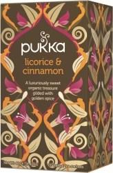 Pukka Te Licorice & Cinnamon Tepåsar 20 st Ekologisk