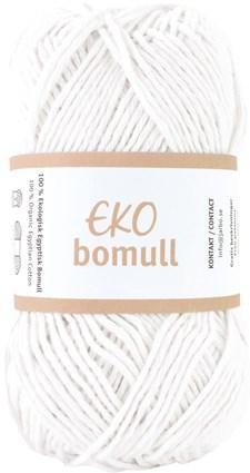 Järbo Eko bomull Garn Eko Bomull 50g Ecru (63202)