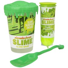 Nickelodeon Make Your Own Slime Set Green