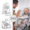 Sit N Relax 3in1 Nordic Grey Hauck