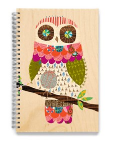 Wooden Owl, Sketchbook, Liten