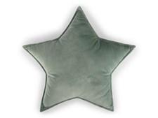 Kudde Sammet Stjärna, Grön, Form Living