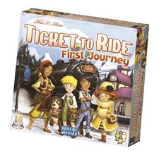 Ticket To Ride, First Journey, Barnspel