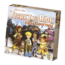 Ticket To Ride, First Journey, Lastenpeli