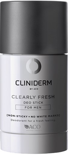 Cliniderm For Men Clearly Fresh Deo stick 75ml