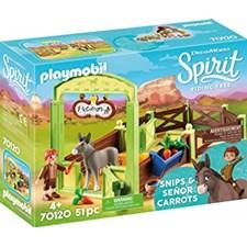Snips och Herr Morot med häststall, Playmobil (70120)