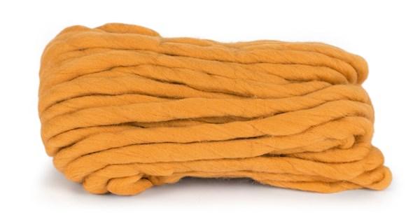 Knit At Home Chunky Wool Lanka Villalangat 200 g lämmin keltainen 937