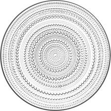 Tallerken, Kastehelmi, 31,5 cm, Klar, Iittala