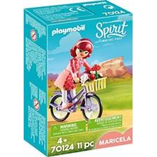 Maricela med cykel, Playmobil (70124)