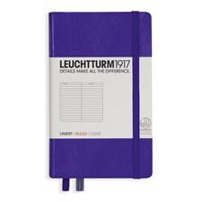 LT NOTEBOOK A6 Hard purple 185 p. ruled