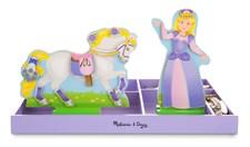 Lila & Lucky, Princess & Pony, Magnetic Dress-up Set, Melissa & Doug