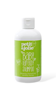 Baby Hair & Body Schampoo 200ml ECO, Petit&Jolie