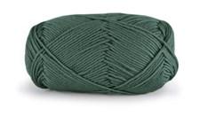 Dale Garn Lerke Ull Bomull Mix 50 g Smaragdgrønn 8112